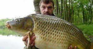 Chlumec - revír plný rybích gigantů